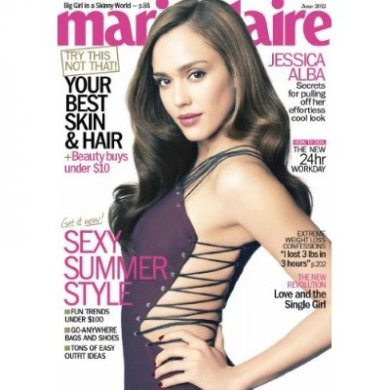 Marie Claire Magazine (1-year auto-renewal).$5