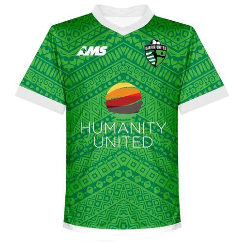 Darfur United Football Jersey