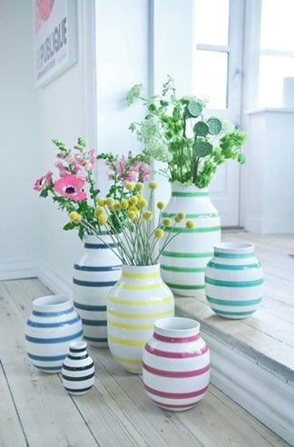 Love these vases from Kahler