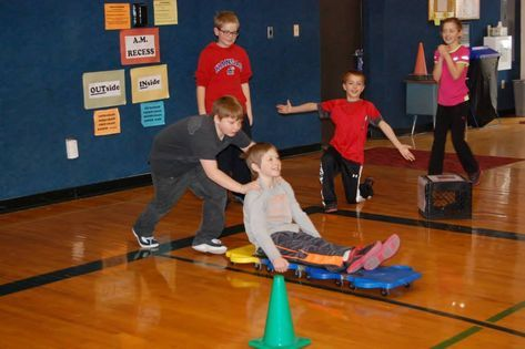 bobsled winter games PE