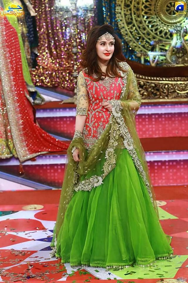 Pakistani Bridal Dresses Shaista Wahidi