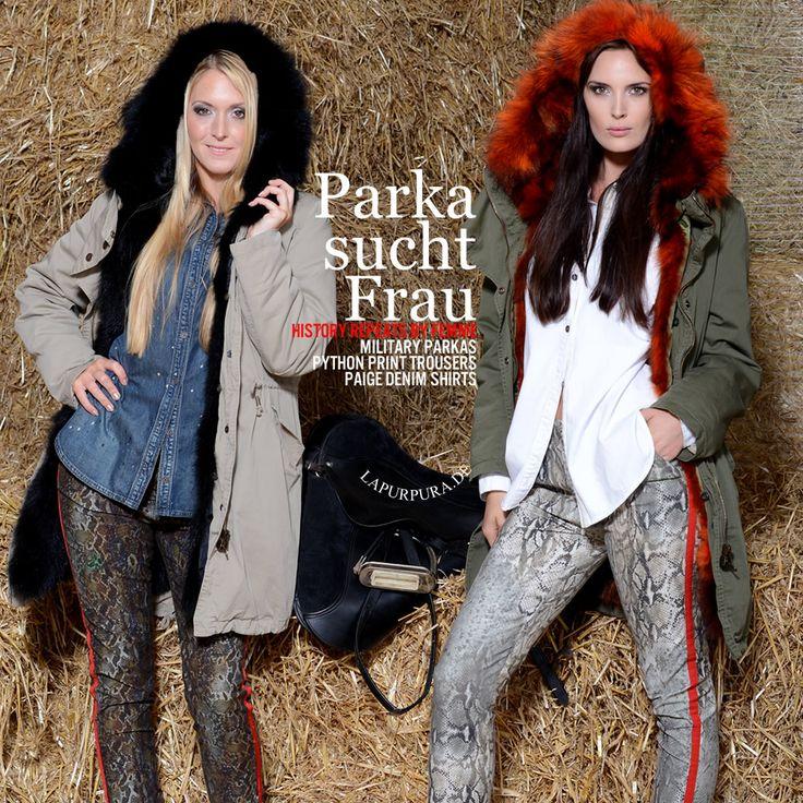 Military Parka und Hosen von HISTORY REPEATS by Femme
