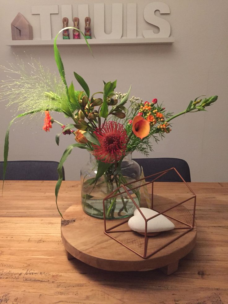 Weer een mooi small boeket van Bloomon! En een aantal bloemen van 2 weken geleden staan ook nog