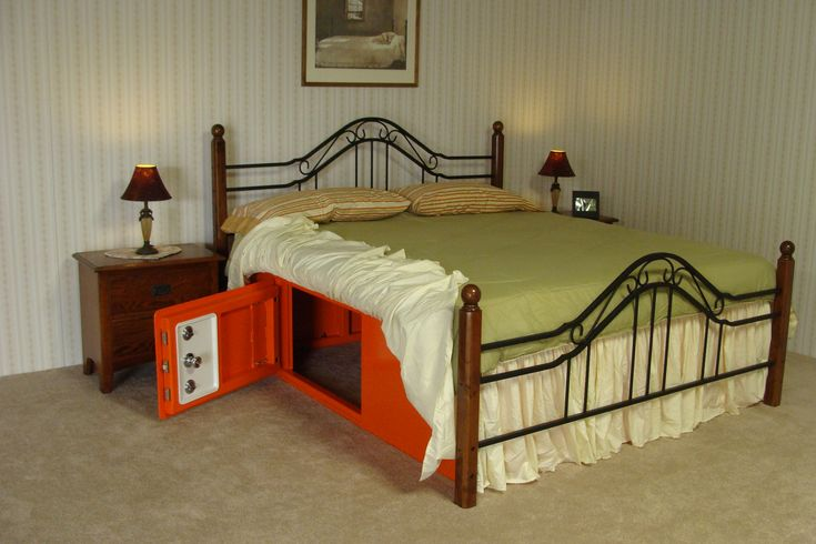 Bed Bunker - tornado shelter--This is an interesting idea.