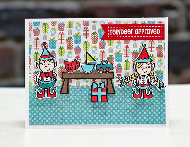 Elves at Work Release Day by stripey fish (Jean M), via Flickr for neat and tangled