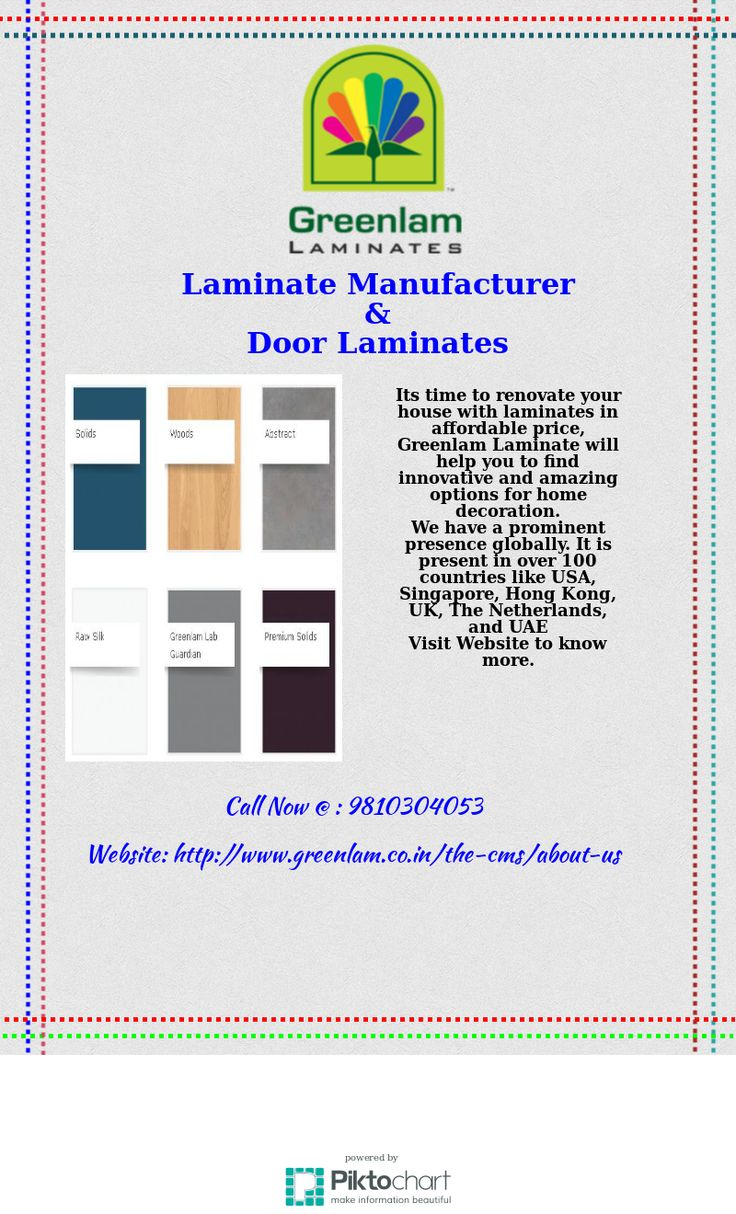 Are you thinking to renovate your house? Greenlam #laminate manufacturer offering amazing options for #homedecoration . check @ http://www.greenlam.co.in/the-cms/about-us