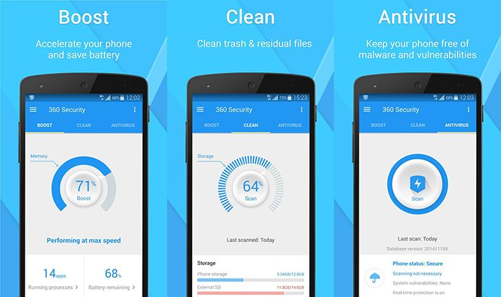 360 Security App With Images Clean Phone Phone App