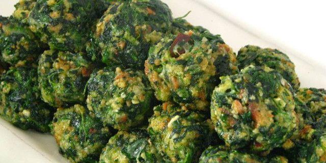 Polpette di spinaci