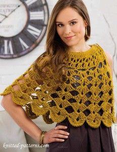 Сapelet crochet pattern