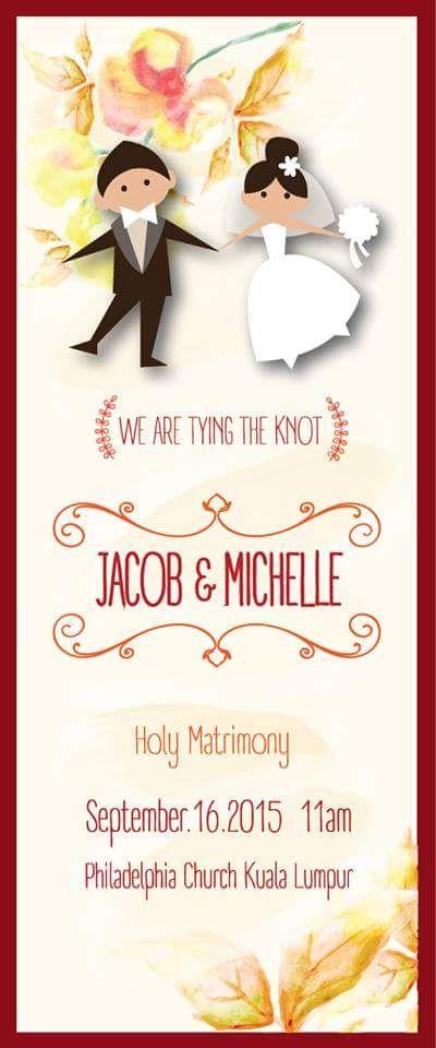 43 best images about My Wedding! on Pinterest - best of wedding invitation card kota kinabalu