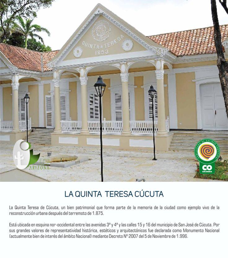 La Quinta de Teresa un bien patrimonial de nuestra Ciudad. #cucuta