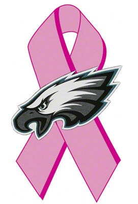 Philadelphia Eagles Tackle Breast Cancer Donation: Every Dollar Helps the Cause. Make a difference.