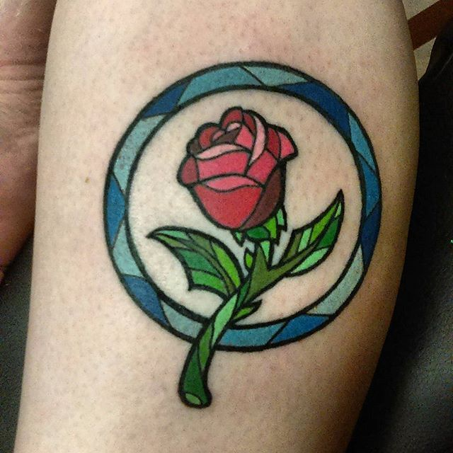 Pin for Later: 15 Beauty and the Beast-Themed Tattoos to Inspire Your Next Magical Ink