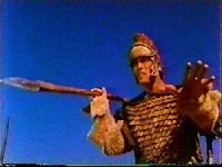 David And Goliath (1978) $19.99; Ted Cassidy (aka: Lurch, Bigfoot) is outstanding as the legendary Goliath of Gath in this Made-For-TV mini series entry. This was to be Ted Cassidy's last screen appearance.