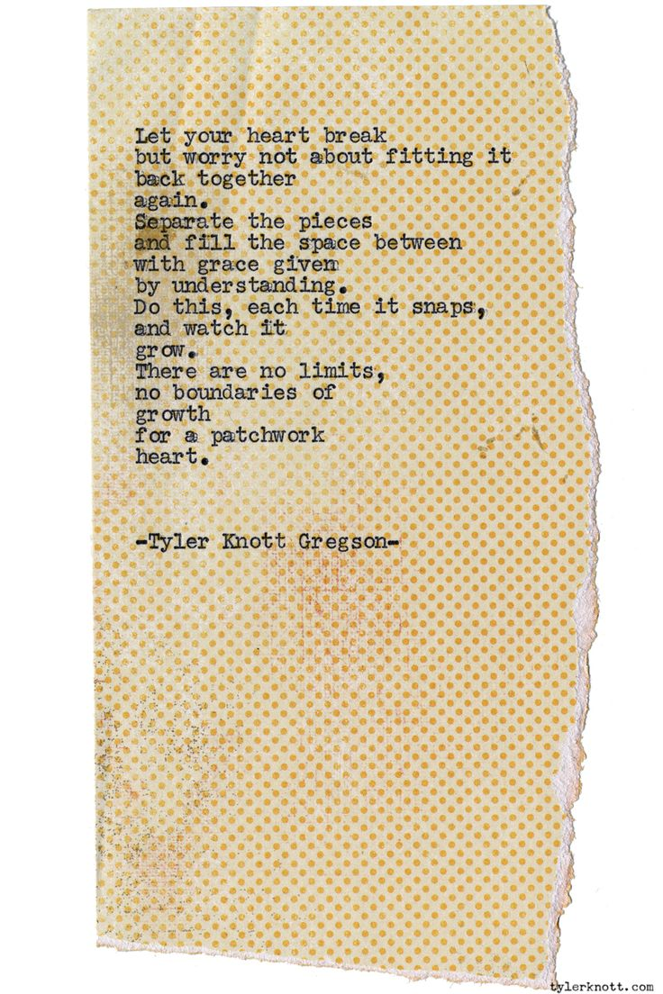 Typewriter Series #1163 By Tyler Knott Gregson*chasers Of The Light, Is  Available
