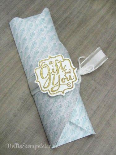Suessigkeitenverpackung mit dem Falz- und Stanzbrett von Stampin' UP! Goodie - Envelope-Punch-Board Stampin' UP!