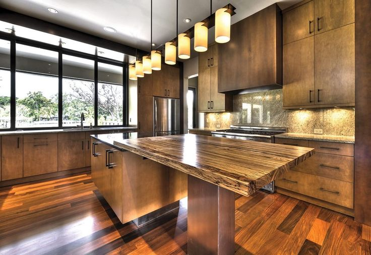 Solid Wood Kitchen Counter