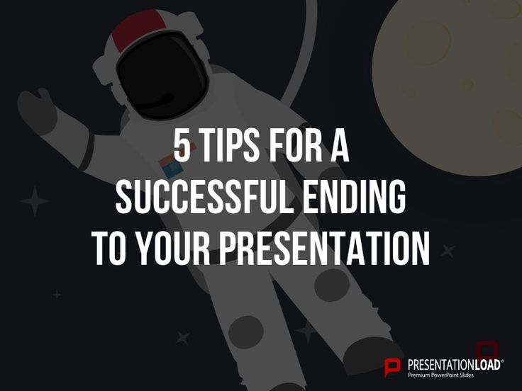 how to end a powerpoint presentation