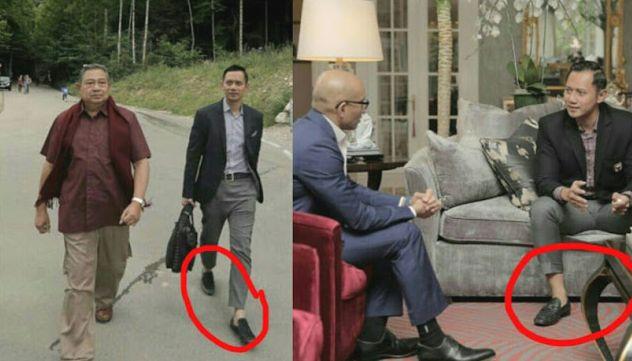 "AHY Gunakan Celana Cingkrang Netizen pun Girang  Diawali unggahan foto dirinya bersama Presiden Indonesia keenam Susilo Bambang Yudhoyono akun instagram Agus Harimurti Yudhoyono (AHY) @agusyudhoyono dibanjiri warganet.  Rupanya netizen ingin bergantian memuji sosok AHY yang tak hanya menuliskan caption ""menyentuh'"" perasaan pembaca namun karena AHY juga dipuji karena menggunakan celana cingkrang yang sangat fashionable.  ""Darimu aku belajar untuk mensyukuri setiap nikmat dan karunia Tuhan…"
