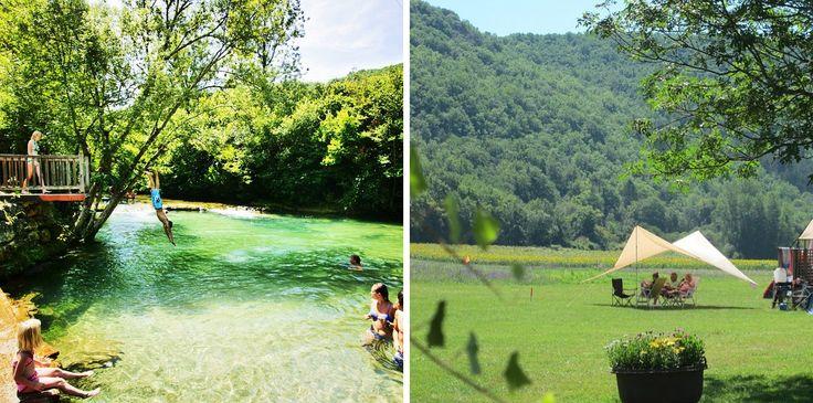 campings aan rivieren - frankrijk