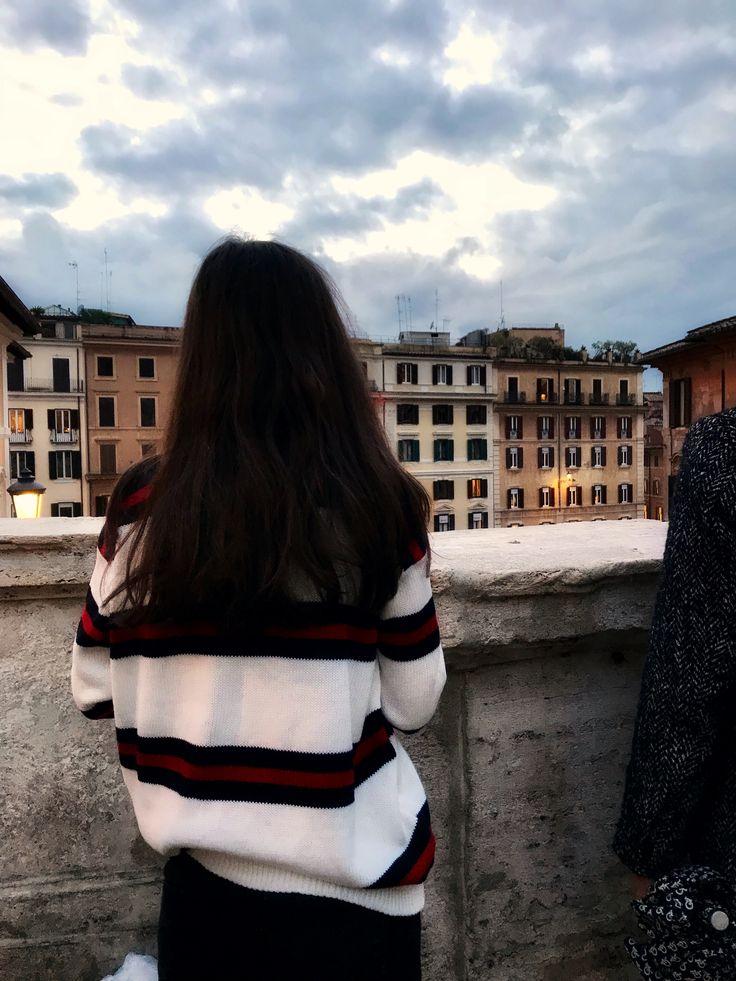 Brandy Melville Rome street style