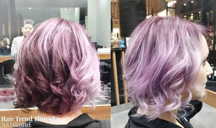 How about this amazing violet colouring by X-Per-Tease Award Winning Hair Studio? It looks so cool!  #NATULIQUE #NATULIQUEchic #HairTrendThursday #Hairtodyefor #HealthyHair #Pinkhair