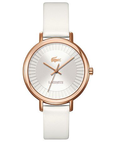 Lacoste Watch With Leather Strap