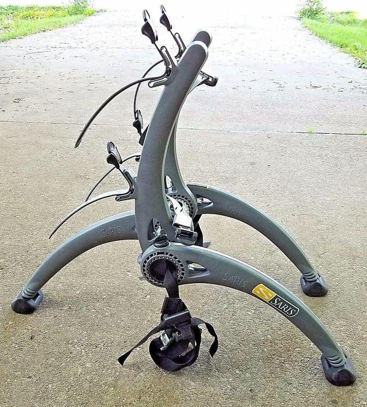 Saris Bones 2 Bike Rack Carrier Trunk Rear Mount Cycling Bicycle Car Auto Grey #Saris