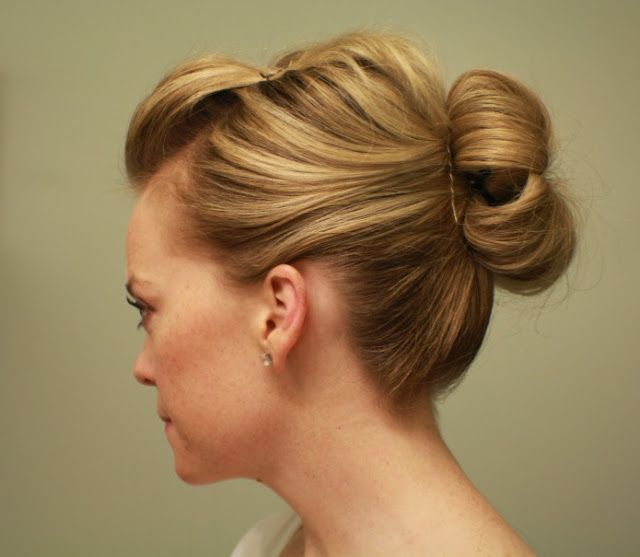 my soul is the sky: Tutorial: Updo Bun with Bangs Pulled Back