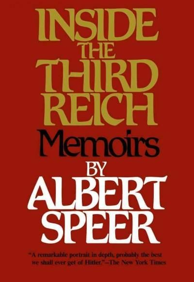 Speer, the Minister of Armaments and War Production under Hitler, the man who had kept Germany armed and the war machine running even after Hitler's mystique had faded, takes a brutally honest look at