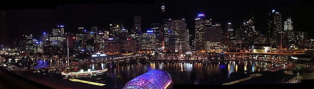 Panorama: Darling Harbour Night