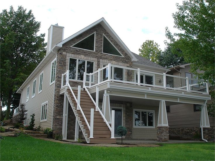 1809 best House images on Pinterest   House floor plans, Lake ...