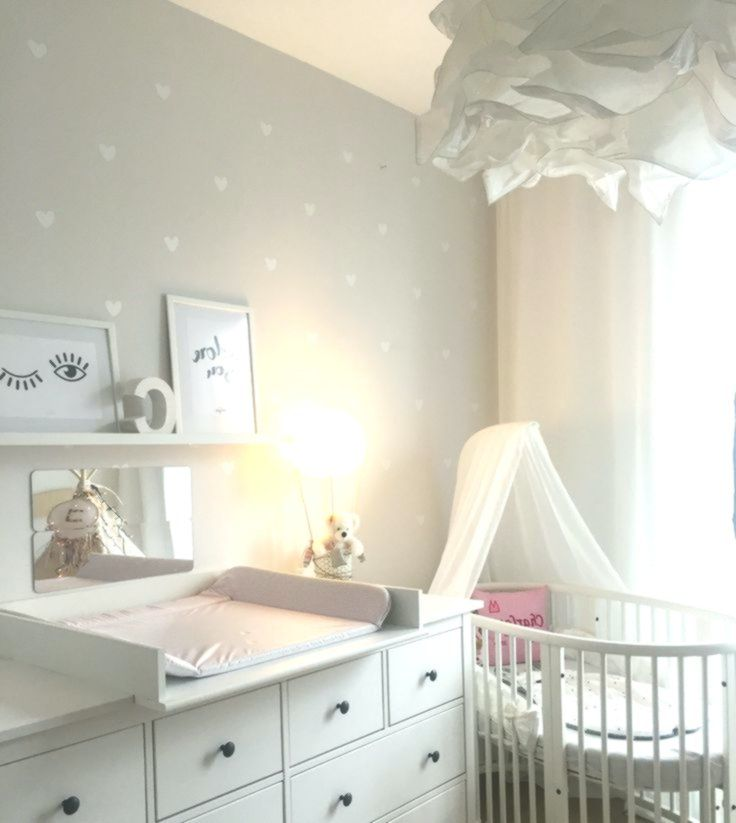 Stokke Babybett Kinderzimmer Babyzimmer Herzchen Ikea