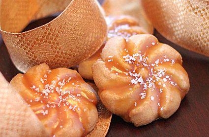 Salted Caramel Spritz Cooky Recipe (LivingOutWest)
