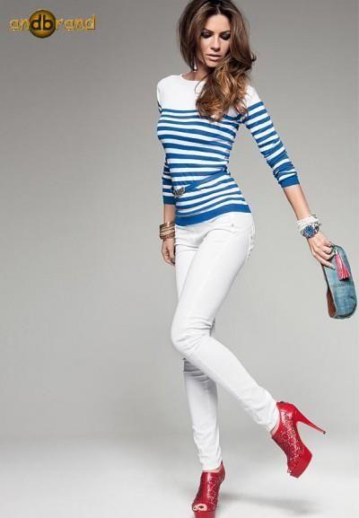 Белые джинсы бренды