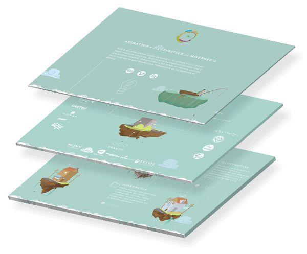 The AIM Box — Animated Microsite on Web Design Served