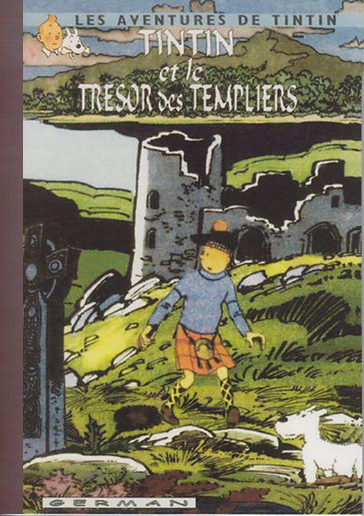 Tintin et le trésor des templiers
