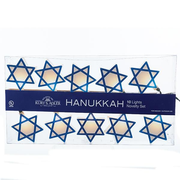 Hanukkah Star of David Light Set