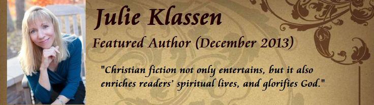 Featured Author Interview: Julie Klassen - Soul Inspirationz | The Christian Fiction Site