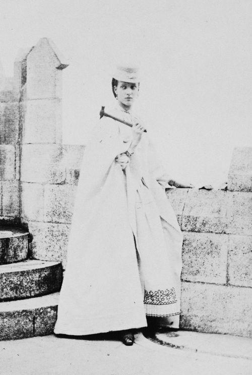 Alexandra, Princess of Wales at Botallack Tin Mine, Cornwall, July 1865