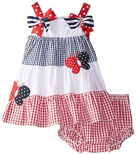 Rare Editions Baby Baby Girls' Colorblock Seersucker Dress, Red/White/Blue, 12 Months Rare Editions http://www.amazon.com/dp/B00XRUJEBG/ref=cm_sw_r_pi_dp_cGbKvb05DCK5H