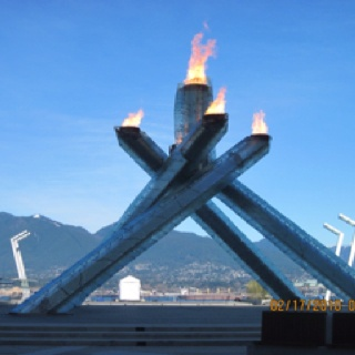 Vancouver - Olympic Torch 2010