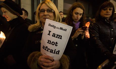Protesters outside the Daily Mail following the death of Lucy Meadows calling for an end to the hounding  of transgender people by the media...
