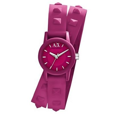 Armani Exchange Lady Atlc Watches (Pink)