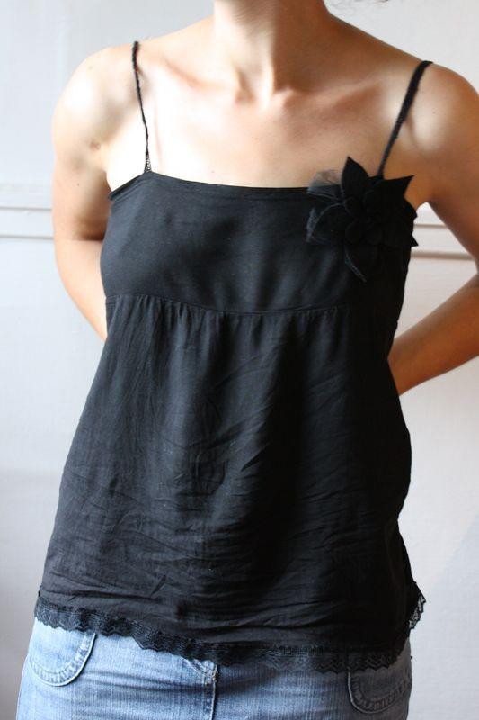 "Tuto de la Petite blouse ""Dos Nu""  Doudoulita ♥"