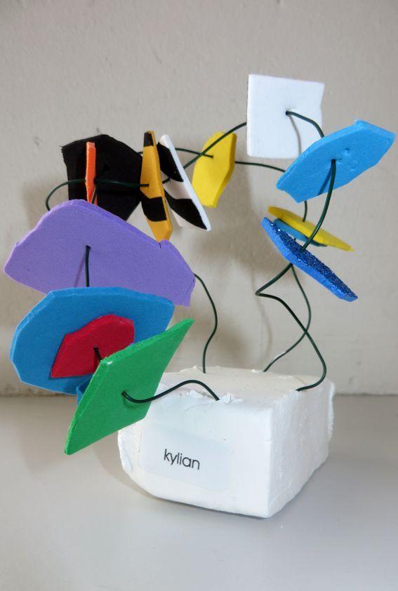 Kunstwerk, thema kunst voor kleuters, kleuteridee.nl , Art theme preschool 2