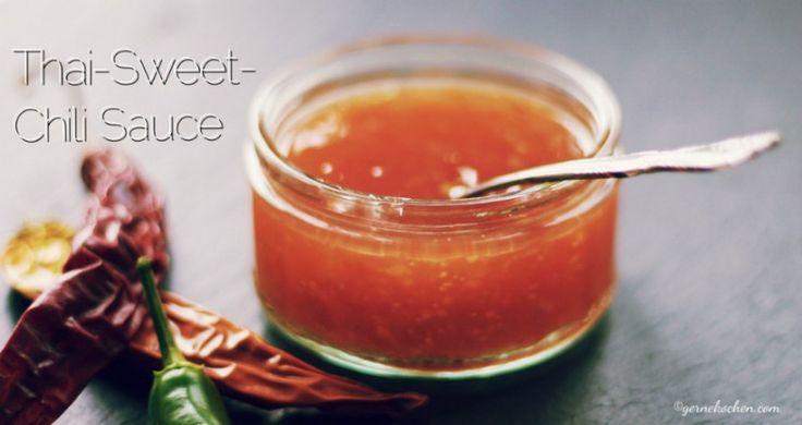 Thai Sweet Chili Sauce bekommt man in jedem Asialaden und gut sortierten Supermarkt. Doch leider steckt viel Glutamat drin... Aber nicht in unserer Soße!