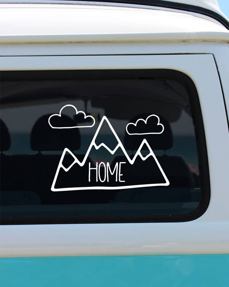 Mountains decal mountain home decal home decal car decal mountain car decal mountains sticker decal vinyl decal home sticker