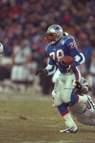Curtis Martin, New England Patriots