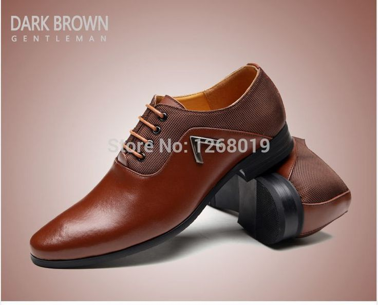 Brand New Fashion Mens Oxfords Autumn&Winter Quality Leather Men Lace up  Dress shoes Comfortable Formal Oxford